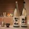 天ぷらの上品な旨みを引き立てるこだわりの純米酒