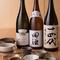 料理にあう美味しい日本酒や、ワインを取り揃えています