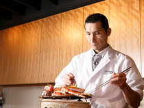 五感で味わう日本料理を丁寧に心をこめてつくっています