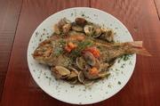 アクアパッツア ブイヤベース2種類の調理法よりチョイスしてください。 魚1匹丸ごと食して下さい。