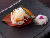 鯛とウニの上品な味わい『鯛のウニ焼き』