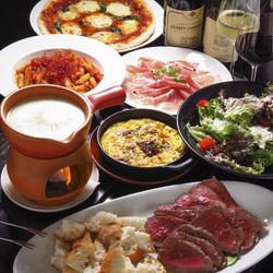 人気の牛ホホ肉の赤ワイン煮込みや特選熟成肉2種食べ比べ、牛の生ハム等熟成牛を堪能する特別コースです。