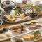 各種宴会には旬の食材でコース料理も可能です