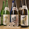日本酒も豊富です! 料理に合うお酒を試してみては