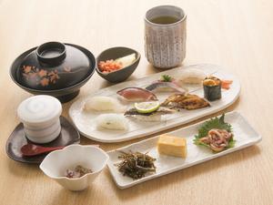 お昼にお寿司がこのお値段とはとても嬉しい『寿司ランチ』