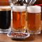別店舗で製造している富良野産の地ビールも、ゆっくり味わえます