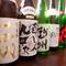日本酒・焼酎豊富に取り揃えています