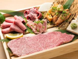地元佐賀を代表する食材「佐賀牛」と「みつせ鶏」
