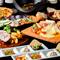 メイン料理をお選び下さい!ポルケッタ(ハーブ香るイタリア版ローストポーク )or白身魚のバジル味噌焼き
