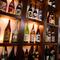 料理によく合う、厳選されたお酒の品ぞろえが豊富です。
