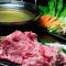 軟らかい肉質で、歯切れがよい『宮崎エモー牛しゃぶしゃぶ』