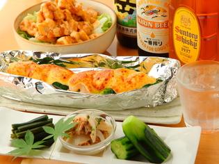 サラダや、から揚げのつけ合わせに使う「レタス」や「鮮魚」