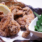 鶏の唐揚げ  おろしポン酢・マヨ・チリソース