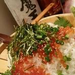 北九州産 自然薯ぶっかけしらすご飯
