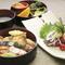 高知の食材を中心に揃えた『カツオのタタキ定食』。郷土色豊かなメニューになっています