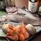北の海から届く新鮮な魚介類を使用した料理をじっくりと堪能