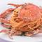 カニの香りが食欲をそそります!『渡り蟹のトマトソース ~スパゲティー~』