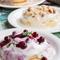 4種のトッピングバリエーションから選べるクリームパンケーキ