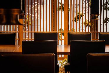 和風モダンな雰囲気の個室テーブル席