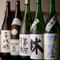 県内の日本酒を網羅。季節限定品など希少なものも取り扱い