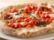 伝統的な製法を忠実に守ったレシピのピッツァ『PIZZA STG』(限定10食)