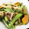 季節の彩り野菜をあっさりと『いろいろ野菜塩炒め』