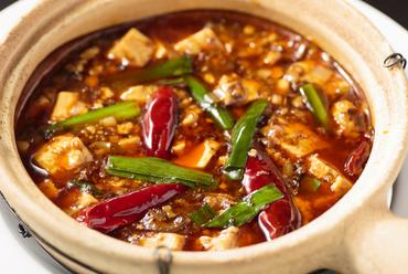 グツグツ&アツアツで登場する四川風『麻婆豆腐』