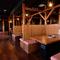 174名まで収容可能。大人数での宴会も楽しめる広々空間
