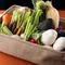 採れたての野菜の香りと美味しさを味わってほしい『お野菜』
