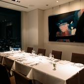 特別感が漂う個室があり、接待や会食、ご家族の集まりなどに最適
