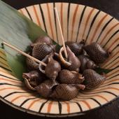 柔らかい「糸を引く」貝の煮つけ 『よだれみなのうま煮』