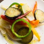 季節野菜のソテー
