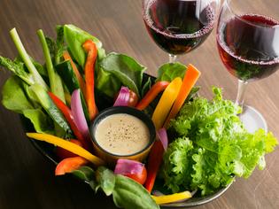 地産地消を目指し石巻の野菜や魚介類を7~8割使っています