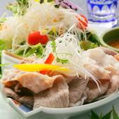 希少な大阪のブランド肉「犬鳴豚」「河内鴨」が食べられる