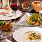 大切な方への特別な日に、特別な料理を...。隠れ家レストランならではの落ち着く空間で特別なひとときを。