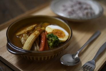 薬膳仕立ての『野菜たっぷりスープカレー』