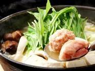 コラーゲンたっぷりの濃厚な白濁スープが絶品!『鶏鍋 1人前』