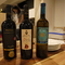 豊富に取り揃えられたワインの数々。お気に入りを見つけてみては