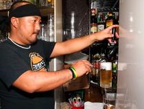ビールの入れ方やタイミングなど、常に一番美味しい状態で提供!