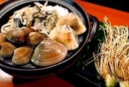 【冬季限定】貝三種の仙台せり鍋