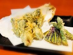 お刺身から親方自慢の天ぷらまで、大満足の貝づくしコースです。