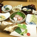 季節のお野菜、新鮮なお魚を楽しめるおまかせコース