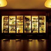 銘酒セラーを備えた特別な席は10名以上から個室として使えます
