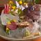 近畿近海の海の幸、旬の野菜が楽しめるお店