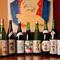 こだわりの「神亀」など熟成した日本酒が揃っています
