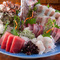 旬の魚介をたっぷり味わえる『お刺身盛り合わせ』