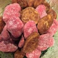 山葵の茎の部分を酢醤油に漬けたものです。日本酒のつまみに是非。