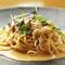 北海道産の生雲丹をふんだんに使った『生雲丹のトマトクリームスパゲッティ』