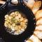 『自家製チーズ豆腐オリーブオイルと塩で…』