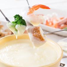 ◆ 当店名物・フレッシュ チーズフォンデュ